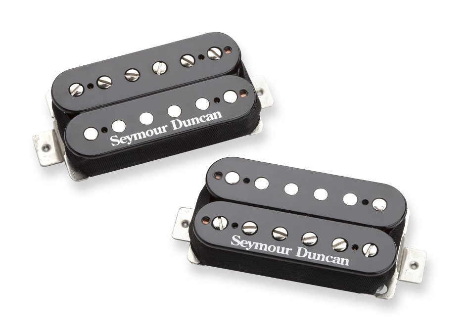 Humbucking Pickups in Black, Set of 2