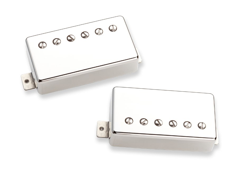Humbucking Pickups in Nickel, Set of 2