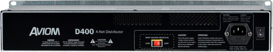 A-Net Distributor with Dante Connectivity