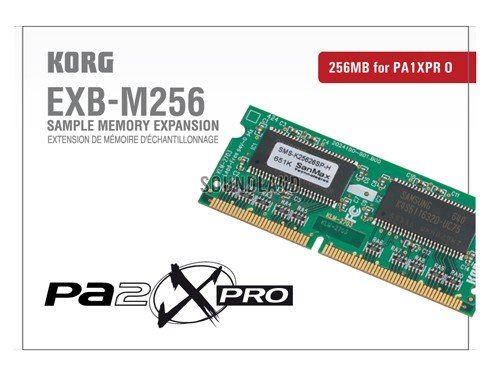 256MB Sample Memory Expansion for Pa2XPro