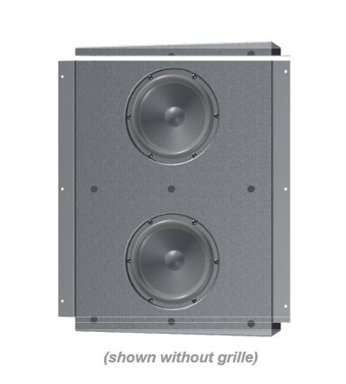 """2x6"""" In-Wall, Compact Subwoofer"""