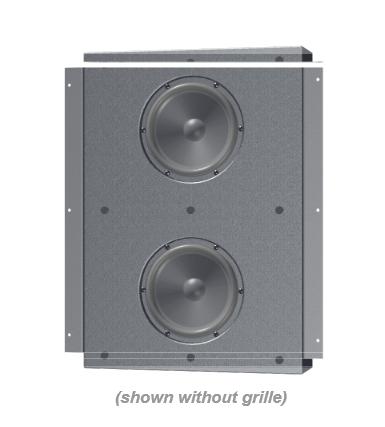 "Innovox Audio Micro-Sub 2x6 iw 2x6"" In-Wall, Compact Subwoofer MICRO-SUB-2X6-IW"