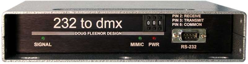RS-232 to DMX Interface