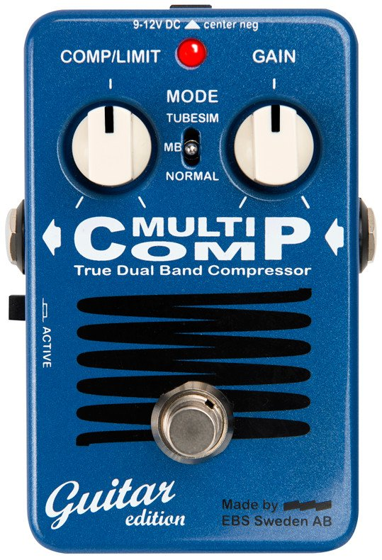 True Dual Band Analog Compressor Guitar Pedal