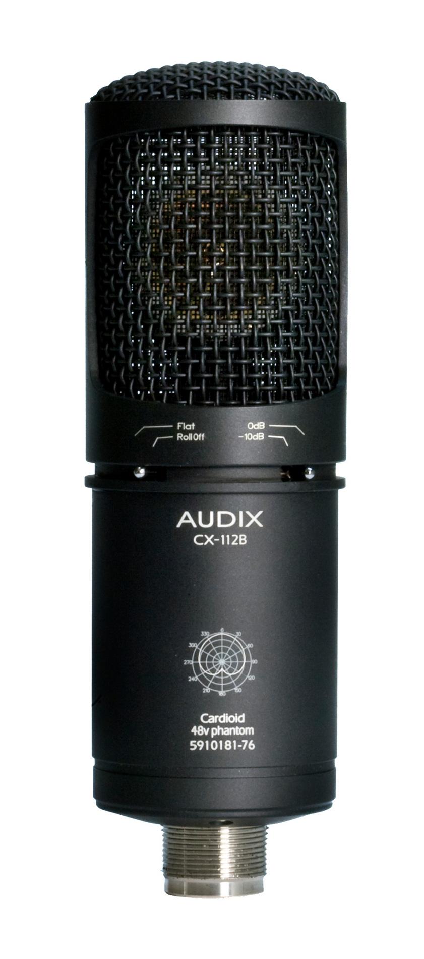Audix CX112B  Cardioid Condenser Mic, Vocal/Instrumental CX112B