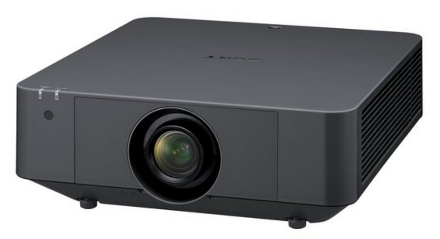5000 Lumens WUXGA 3LCD Laser Projector with HDBaseT in Black