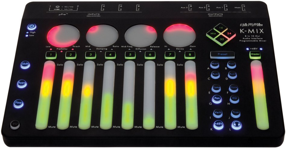 Audio Interface and Programmable Mixer, Mac/Win