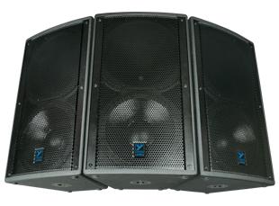 "15"", 3-Way, 1000W Speaker, 4Ohms Carpeted"