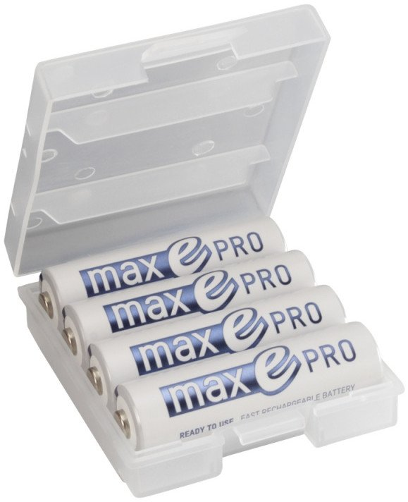 High Recycle AA NiMH Slimline Battery 4-Pack