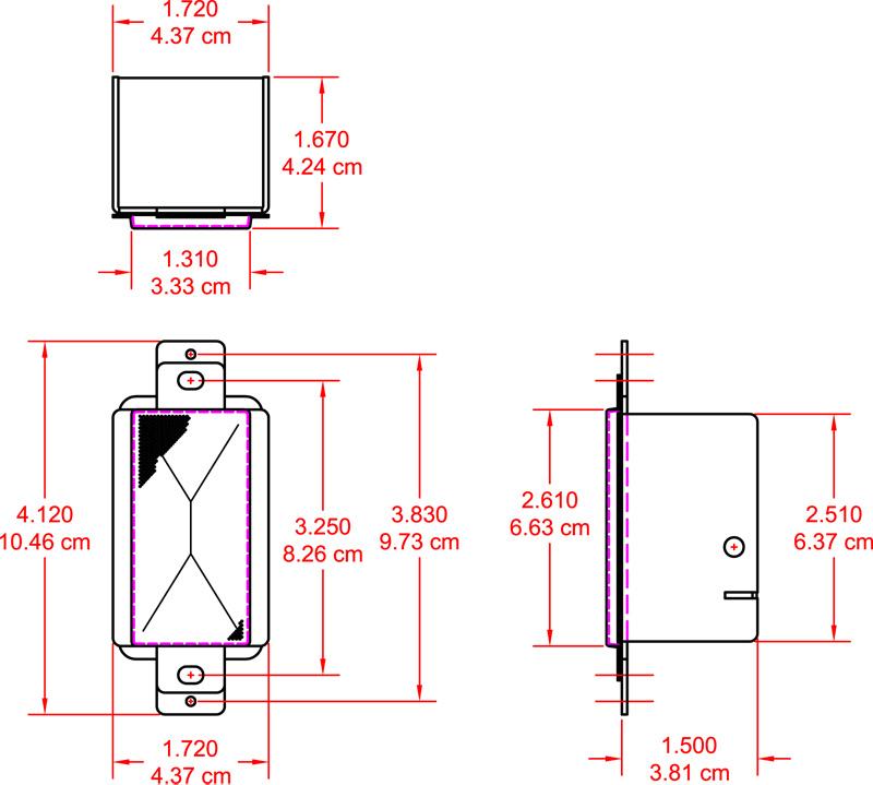 2-Watt 8 Ohm Loudspeaker, Decora