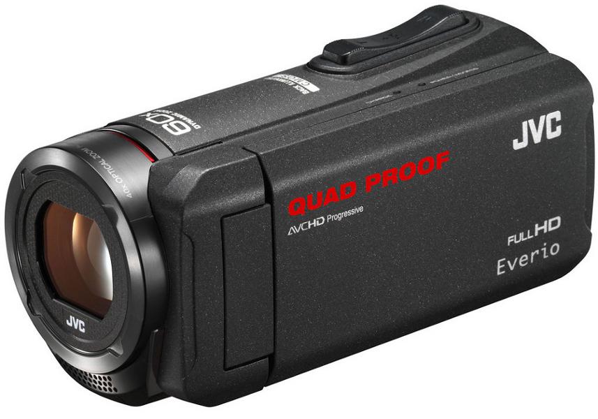 Everio Quad Proof Full HD Camcorder