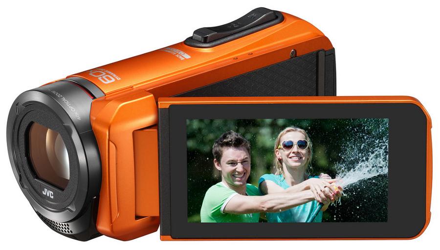 Quad Proof Everio Full HD Camcorder in Orange