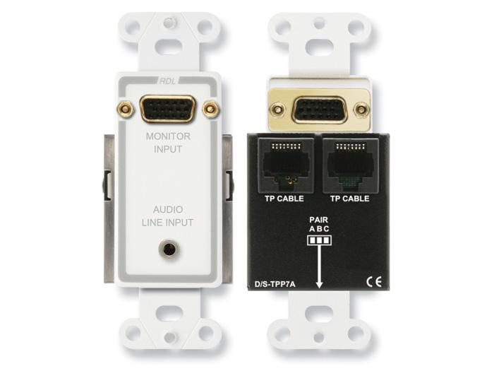 Format-A D-TPS7A w/ Monitor Pass-Through