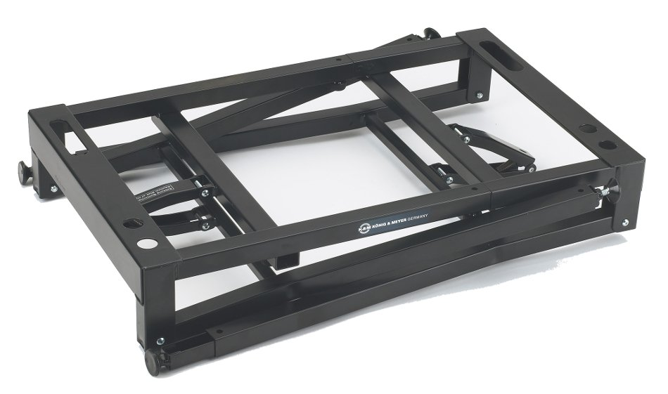 Table-Style Keyboard Stand in Black