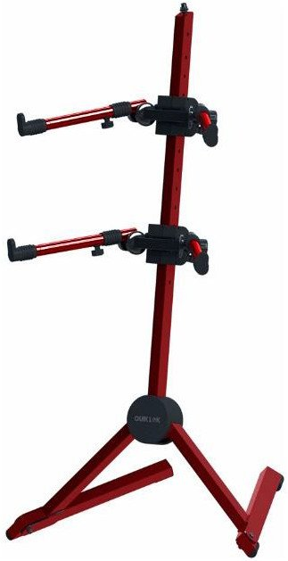 Double-Tier Slant Stand in Red