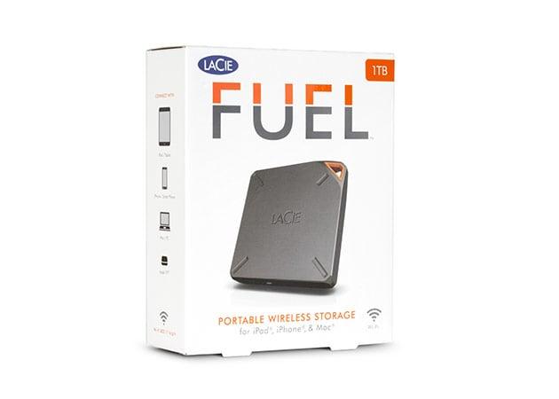 1TB USB3 Wireless External Hard Drive