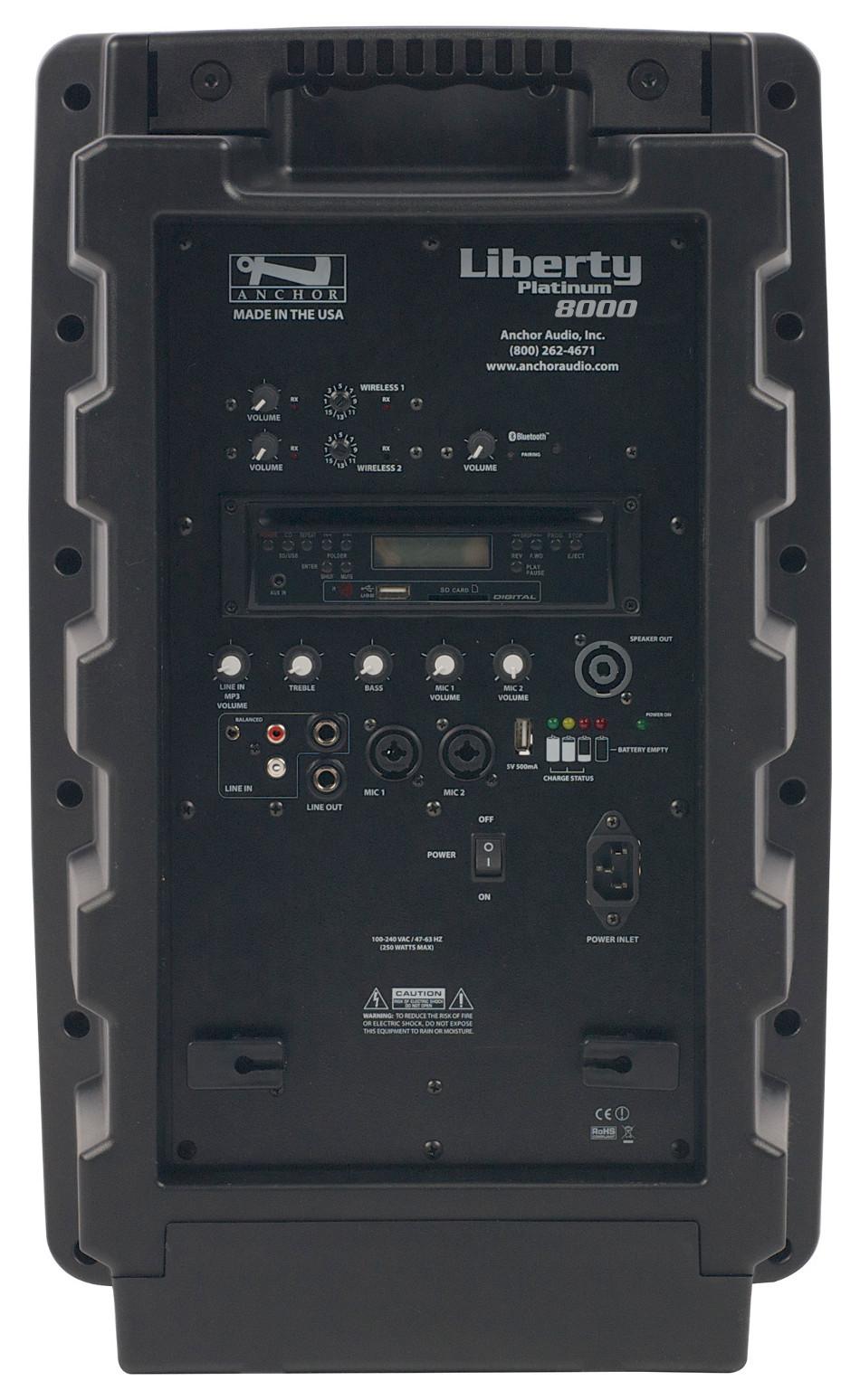 Liberty Sound System w/CD Plyr, 2 Wireless Receivers