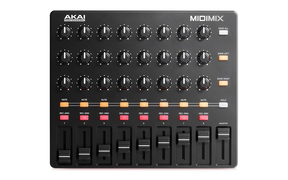 USB-MIDI DAW Controller