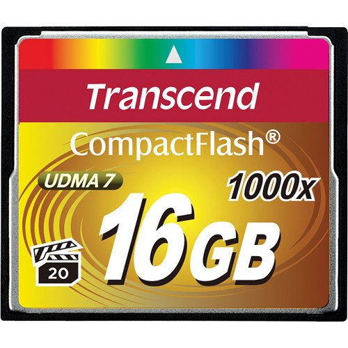 16GB 1000x Ultimate Series Compact Flash Card