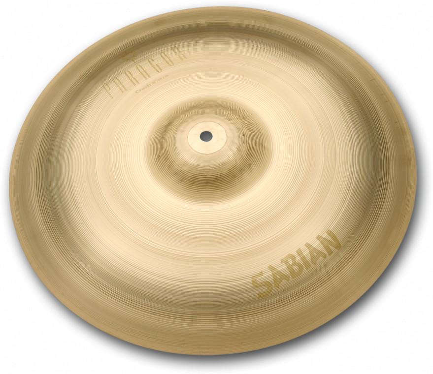 "Sabian Paragon 17"" Crash Cymbal in Natural Finish NP1708"