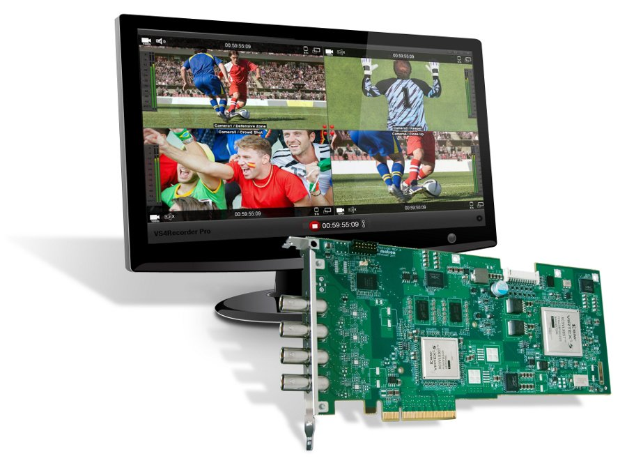 Audio-Video Recording Software for VS4 Quad Capture Card