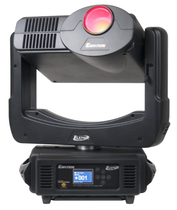 Elation Pro Lighting EMOTION 240W Moving Head Light Fixture with 64GB Media Server EMOTION