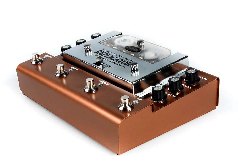 Analog Tape Delay Pedal with Tap Tempo