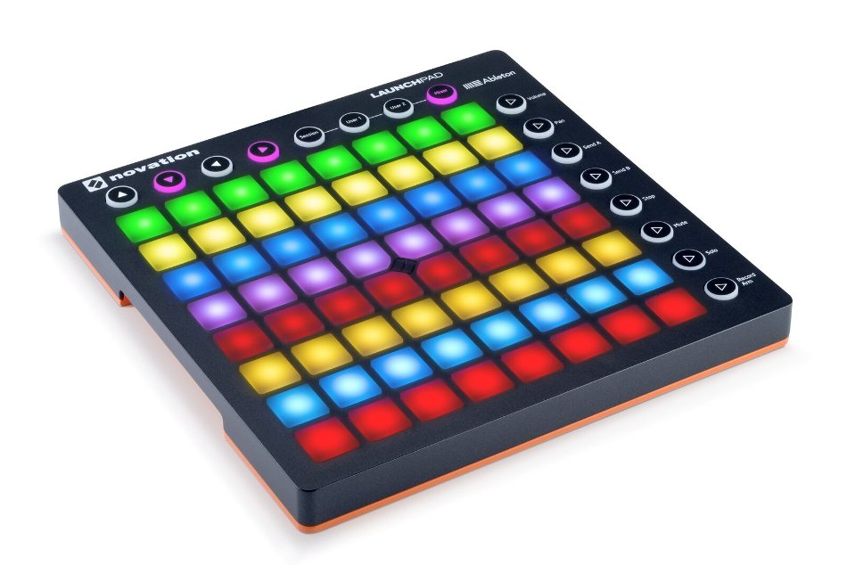 64-Pad Grid Controller with RGB Pads