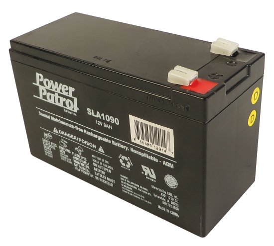 Interstate Battery SLA1090  SLA250 12V 9AH Battery SLA1090
