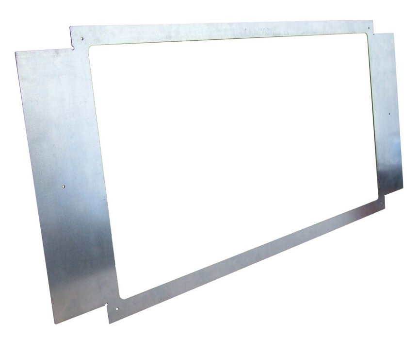 Video Wall Spacer in Silver