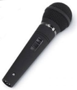 Handheld Microphone with 15 ft Cable and Adapter