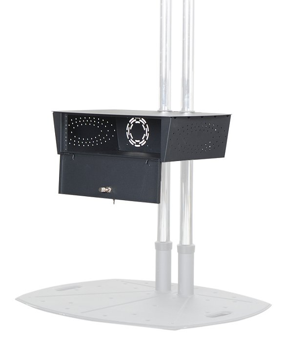 Premier Mounts PSD-GBSHLF GearBox Secure Storage Shelf for Carts and Stands PSD-GBSHLF