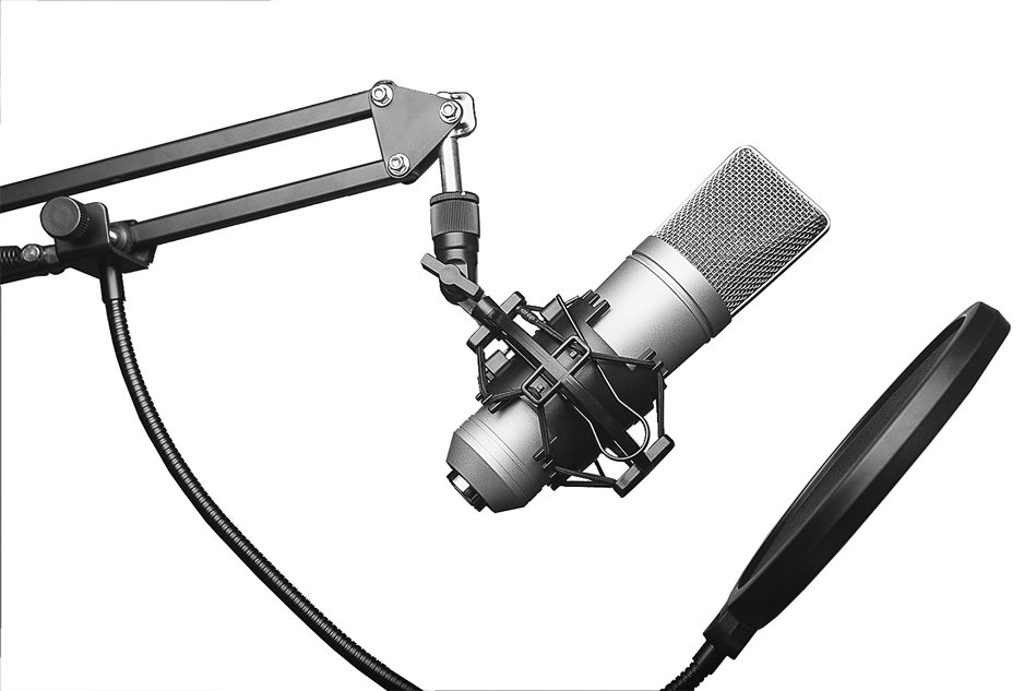 USB Condenser Microphone Starter Package with Boom Arm