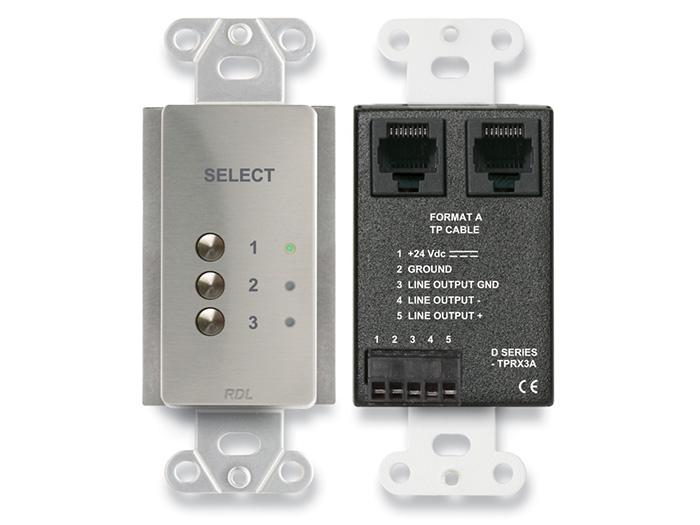 3 Input Format-A Source Select