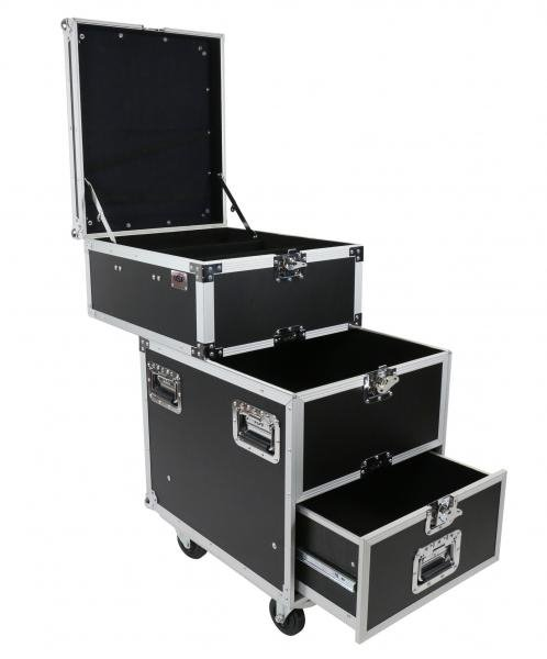 Sliding Drawer Utility Case with Casters