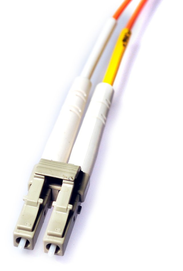 50 ft Multimode Fiber Optic Cable with LC UPC Connectors