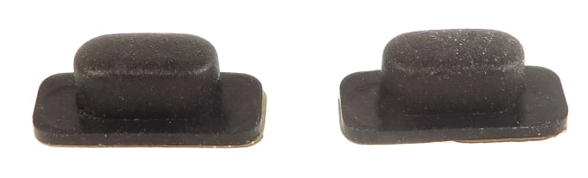 Pair of Rubber Pads for HD 380