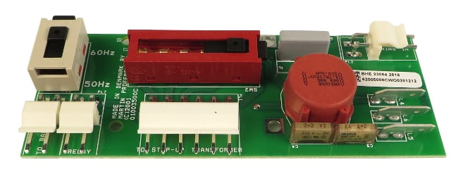 Voltage/Frequency Selection PCB Assembly for smartMAC