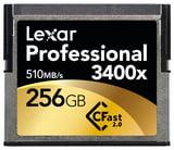 256GB 3400x CFast 2.0 Memory Card