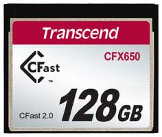 128GB 3400x CFast 2.0 CFX650 Memory Card - 510MB/s Read, 370MB/s Write