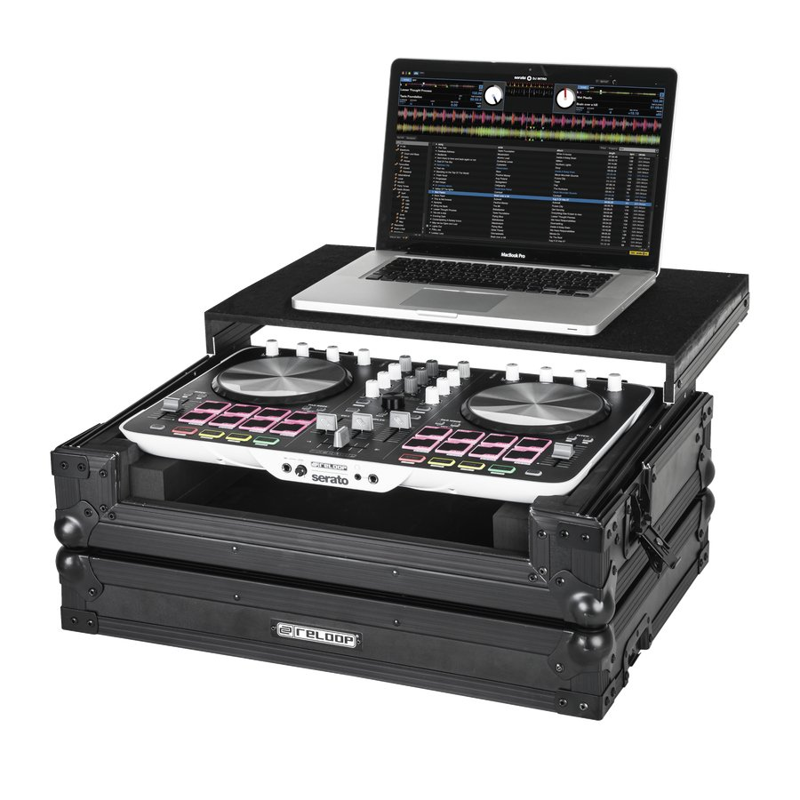 Reloop Beatmix 2 Case Flight Case with Laptop Tray BEATMIX-2-CASE