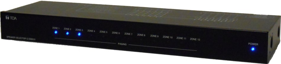 Speaker Selector w/Power Supply