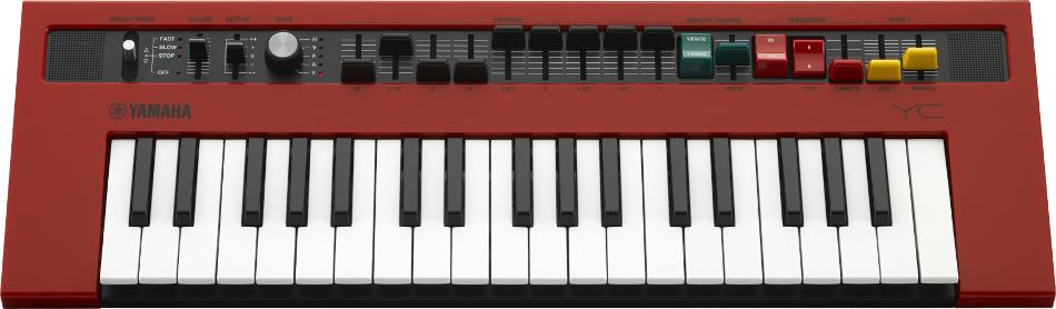 37-Key Combo Organ Synthesizer