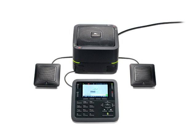 Revolabs FLX™ UC 1500 IP & USB Conference Phone w/Extension Microphones 10-FLXUC1500