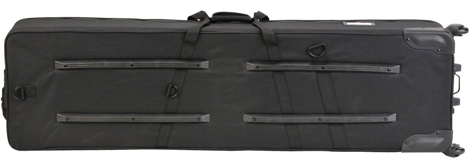 Soft Case for 88-Key Narrow-Frame Keyboards with Wheels