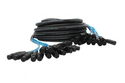 16 Channel, 50ft Fan to Fan XLR Extension Snake