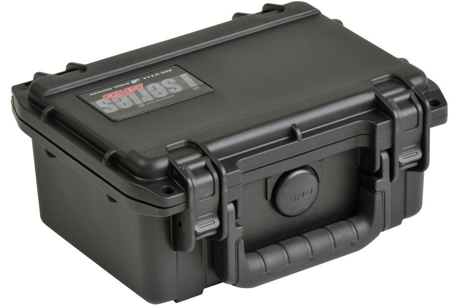 "iSeries Waterproof Case with Cubed Foam Interior, 7.5""x5""x3.25"""