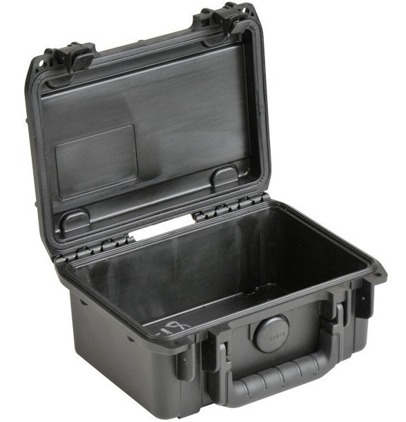 "iSeries Waterproof Case with Empty Interior, 8.5""x6""x3.75"""