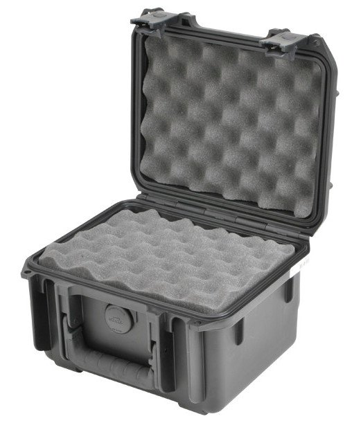 Molded Waterproof Case, 9x7x6, Layered Foam Interior