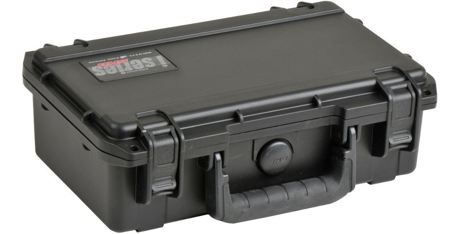 "iSeries Waterproof Case with Cubed Foam Interior, 10.7""x6""x3.25"""